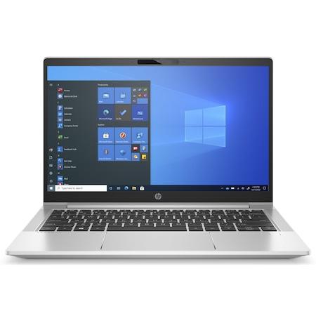 Лаптоп HP ProBook 430 G8 с Intel Core i5-1135G7 (2.40/4.2GHz, 8M), 32 GB, 2 TB M.2 NVMe SSD, Intel Iris Xe Graphics, Free DOS, сребрист / Черен