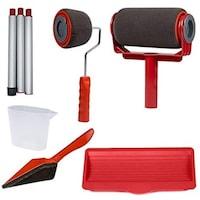 Комплект валяци за боядисване с резервоар GERDANI BG Paint Roller Pro, червен