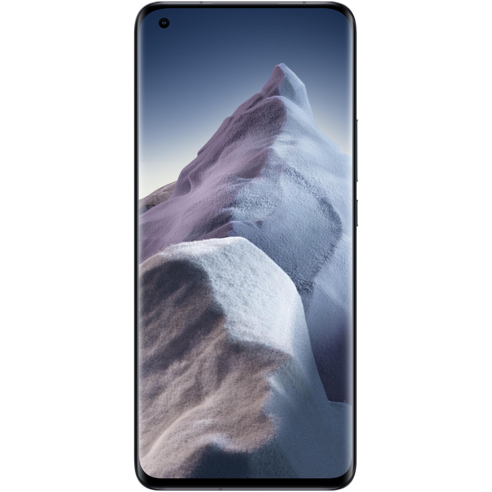 Fotografie Telefon mobil Xiaomi Mi 11 Ultra, Dual SIM, 256GB, 12GB RAM, 5G, Ceramic Black