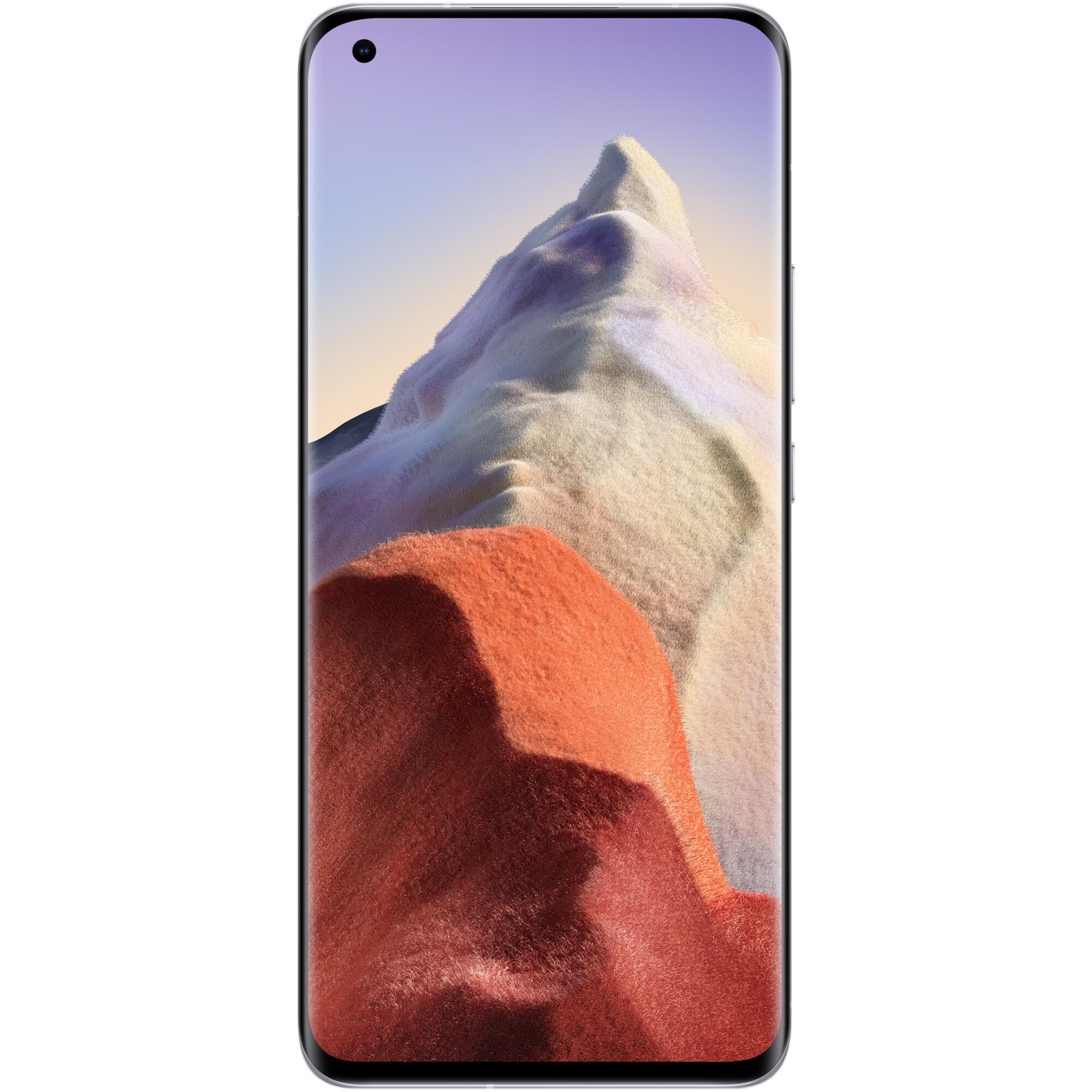 Fotografie Telefon mobil Xiaomi Mi 11 Ultra, Dual SIM, 256GB, 12GB RAM, 5G, Ceramic White