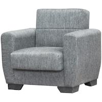 Разтегателен фотьойл Modella Star, 93x80x85 см, Сив