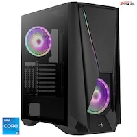 Serioux Powered by ASUS Gaming asztali számítógép, Intel® Core™ i5-11400F processzorral max. 4.40GHz, 16GB DDR4, 1TB SSD, Radeon™ RX 6700 XT 12GB GDDR6, Microsoft Windows 10 Home