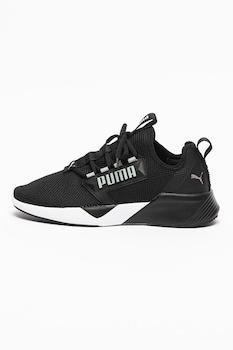 Puma, Retaliate textilsneaker, Fekete/Ezüstszín
