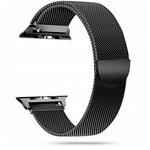Метална каишка TECH-PROTECT MILANESEBAND, За Apple Watch 2/3/4/5/6/SE 42-44мм, Black