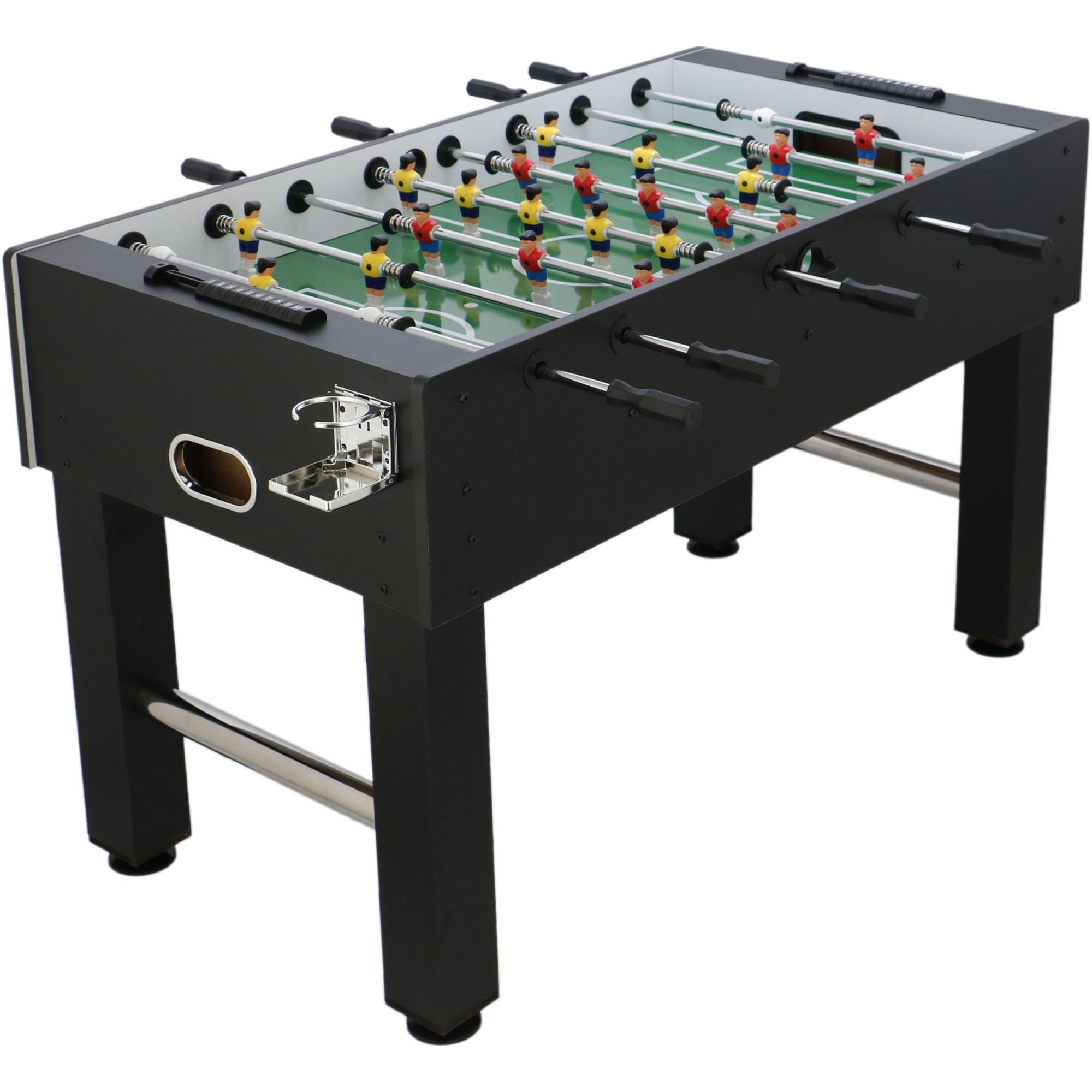 Fotografie Masa fotbal(foosball) 138x71x87 cm, culoare negru-verde