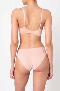 ESPRIT Bodywear, Párnázott melltartó állítható pántokkal, Pasztell rózsaszín