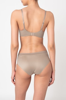 ESPRIT Bodywear, Párnázott melltartó állítható pántokkal, Drapp