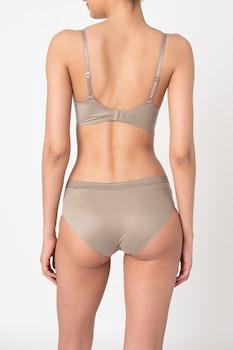 ESPRIT Bodywear, Merevítő nélküli háromszög alakú párnázott melltartó, Drapp