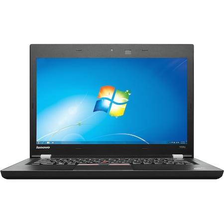 Ultrabook Lenovo ThinkPad T430u с процесор Intel® Core™ i7-3517U 1.90GHz, Ivy Bridge, 8GB, 1TB, nVidia GeForce GT 620M 1GB, Microsoft Windows 7 Professional, Черен