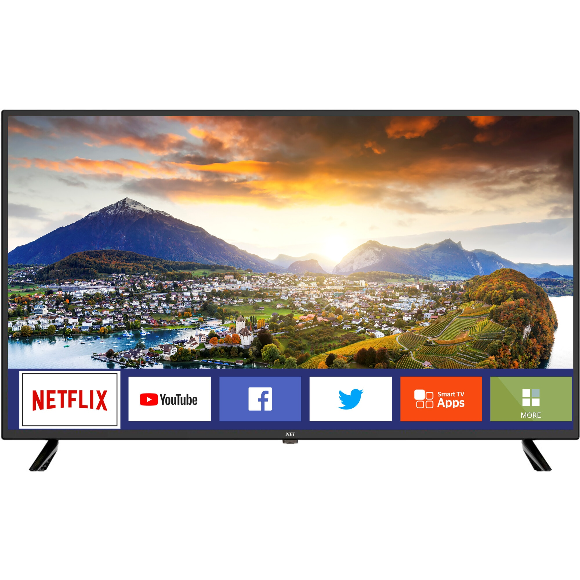 Fotografie Televizor Nei 40NE5700, 100 cm, Smart, Full HD, LED, Clasa E