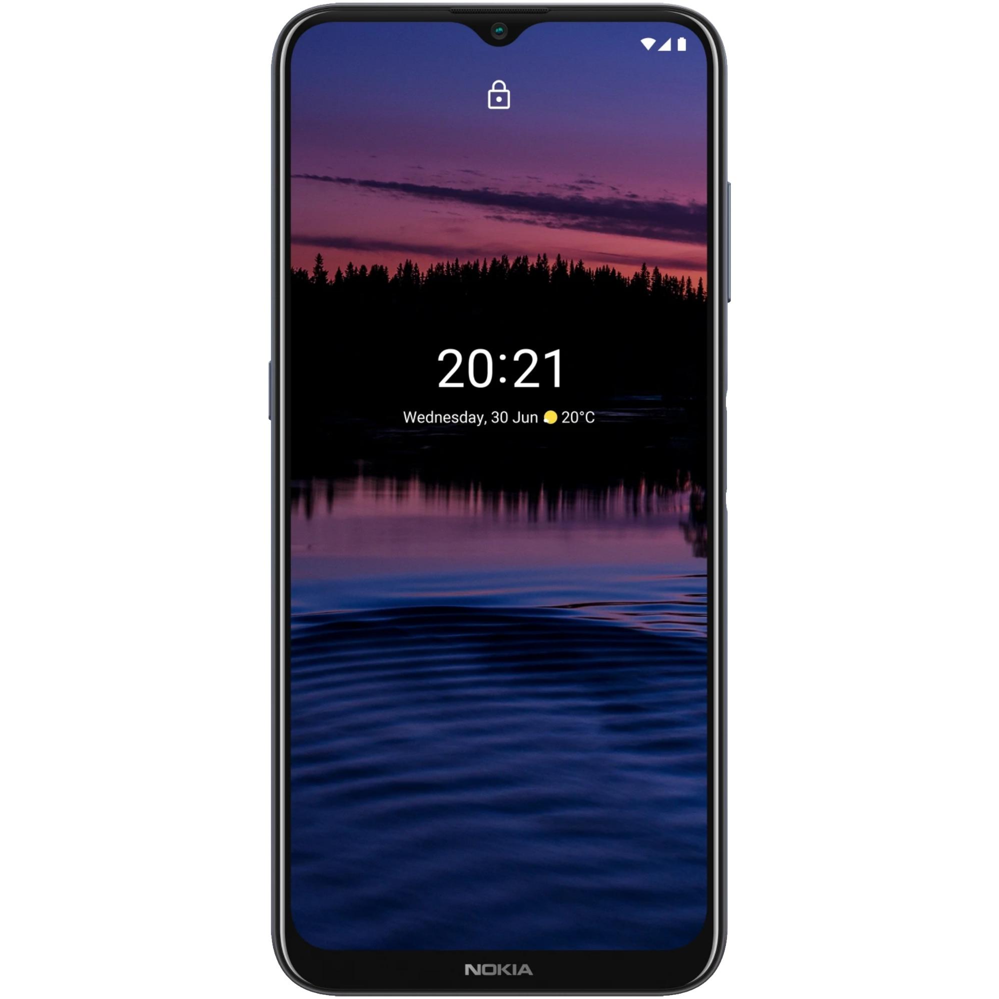 Fotografie Telefon mobil Nokia G20, Dual SIM, 4GB RAM, 64GB, Blue
