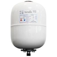 Санитарен разширителен съд Fornello, 8 литра, Вертикален, Бял, Максимално налягане 10 бара, Мембрана EPDM