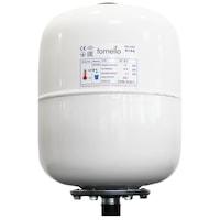 Санитарен разширителен съд Fornello, 18 литра, Вертикален, Бял, Максимално налягане 10 бара, Мембрана EPDM