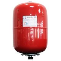 Термичен разширителен съд Fornello, 24 литра, Вертикален, Червен, Максимално налягане 10 бара, Мембрана EPDM