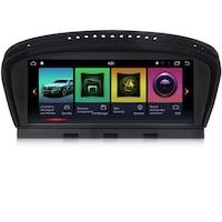 Мултимедия Hesperus за BMW E90 E60 CIC, Двоен дин с GPS, Android 9.0, black