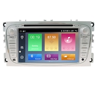 Мултимедия Hesperus за FORD, Двоен дин с GPS, DVD, DSP, Android 10, сива