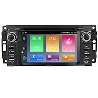 Мултимедия Hesperus за JEEP, Двоен дин с GPS, DVD, DSP, Android 10, black