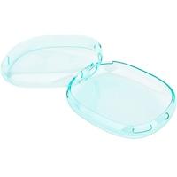 Husa protectie cupe din silicon transparent pentru casti Apple AirPods Max - Verde