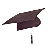 Ballagási diplomaosztó kalap