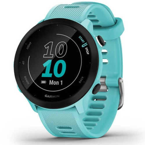 Fotografie Ceas Smartwatch Garmin Forerunner 55, Aqua