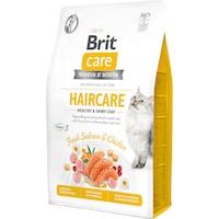 Суха храна за котки Brit Care GF, Healthy & Shiny Coat, 2 кг