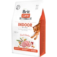 Суха храна за котки Brit Care GF, Anti-Stress, 400 гр