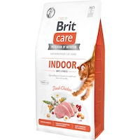 Суха храна за котки Brit Care GF, Anti-Stress, 7 кг