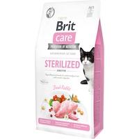 Суха храна за котки Brit Care GF, Sterilized Sensitive, 7 кг