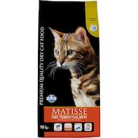 Суха храна за котки Matisse Neutered, Сьомга, 10 кг