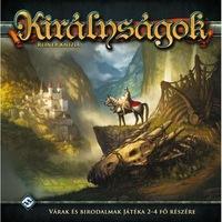 Királyságok-Kingdoms - magyar kiadás társasjáték