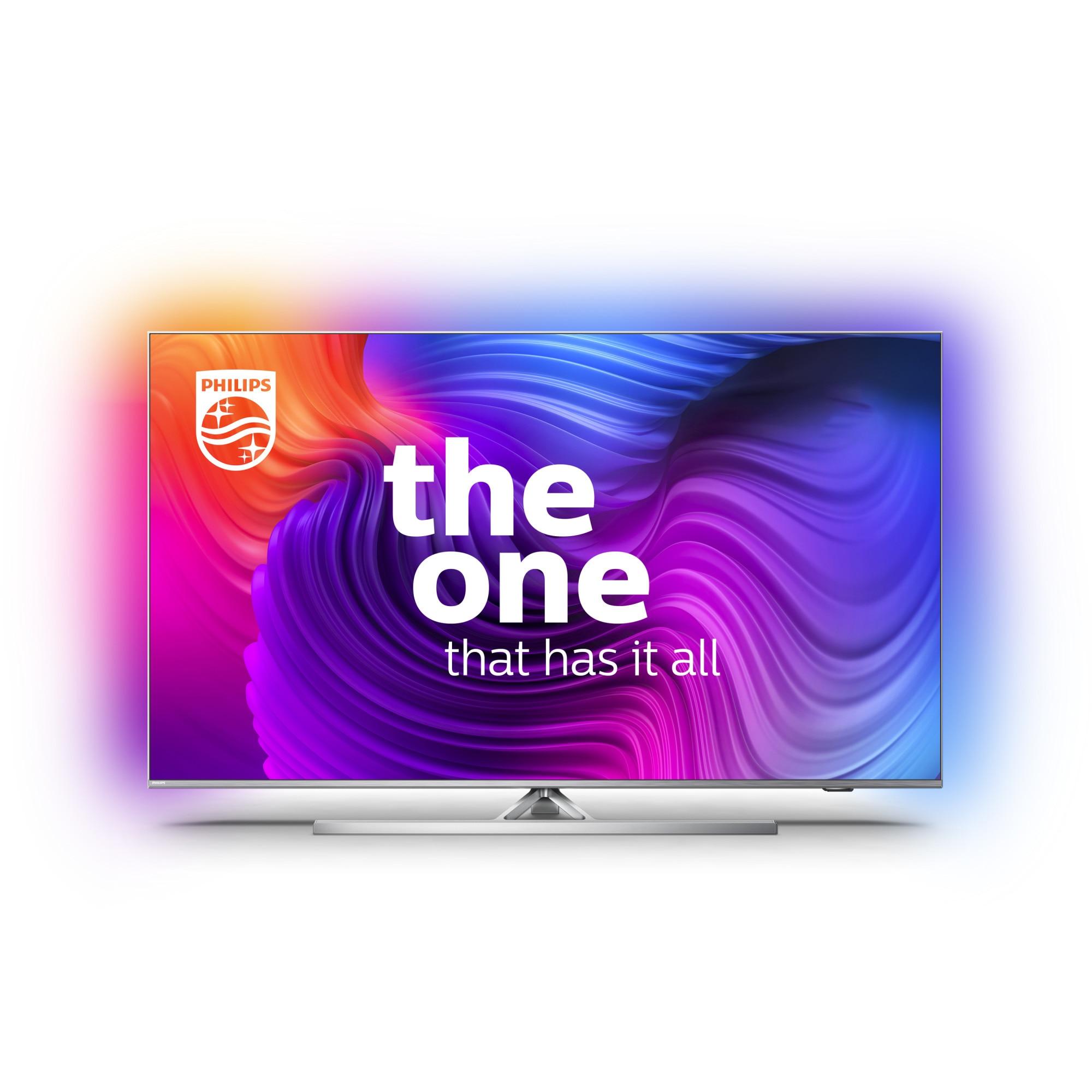 Fotografie Televizor Philips 50PUS8536/12, 126 cm, Smart Android, 4K Ultra HD, LED, Clasa G