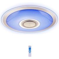 Luxury UFO Bluetooth Mennyezeti Lámpa 45cm RGB Színes Hangszóróval Távirányítóval