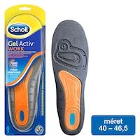 Scholl GelActiv™ Talpbetét fizikai munkához, férfiaknak