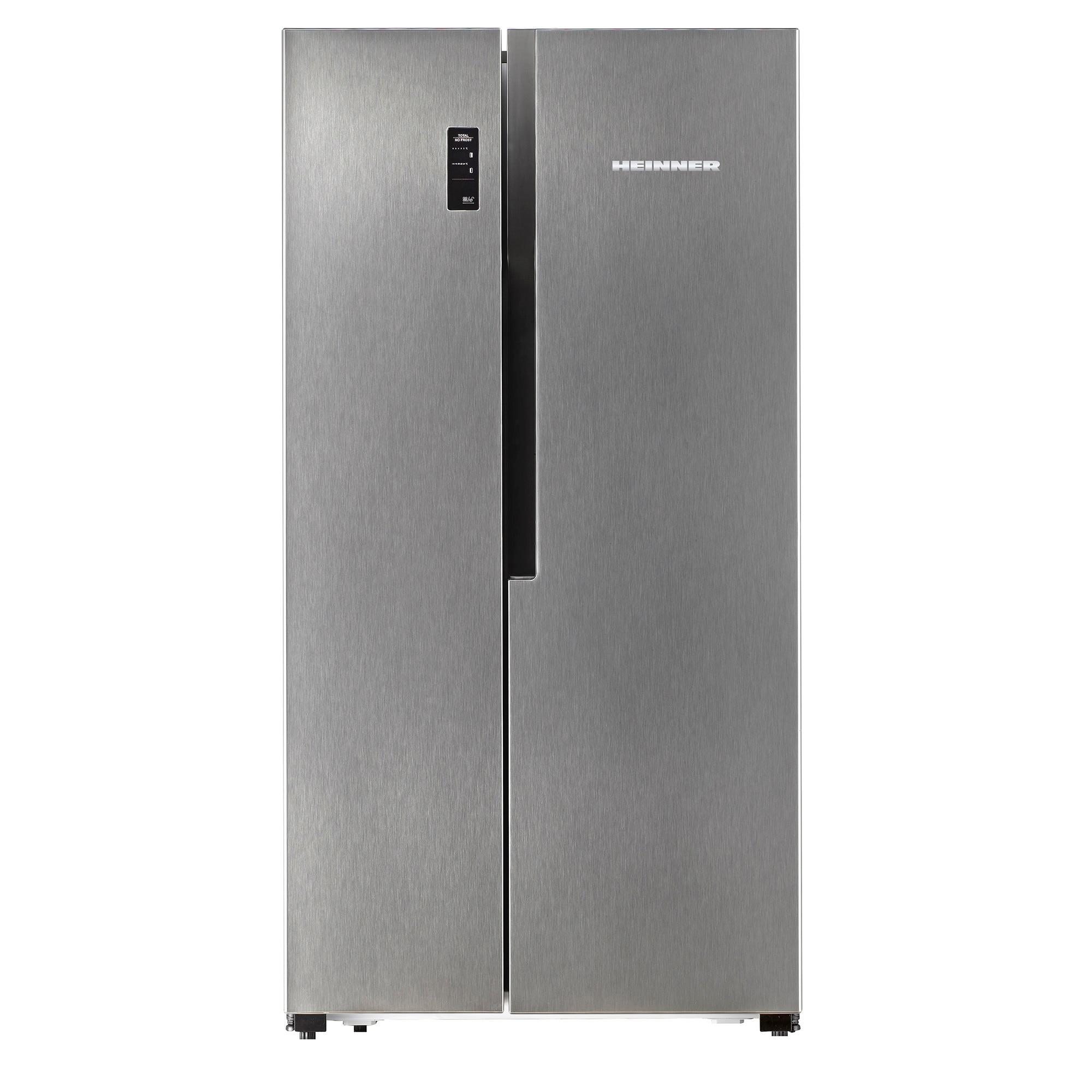 Side by side хладилник Heinner HSBS-520NFX+