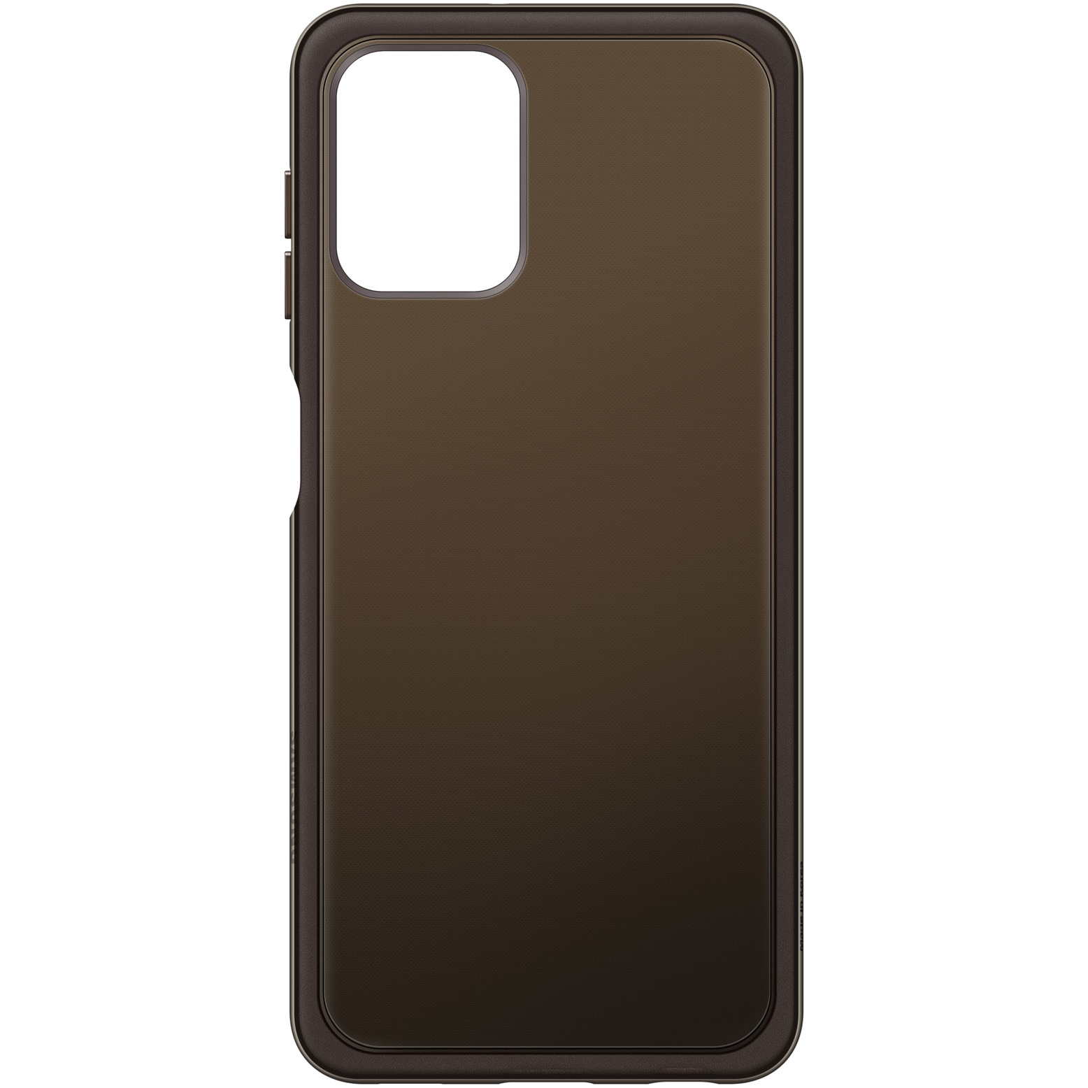 Fotografie Husa de protectie Samsung Soft Clear pentru Galaxy A22 LTE, Black