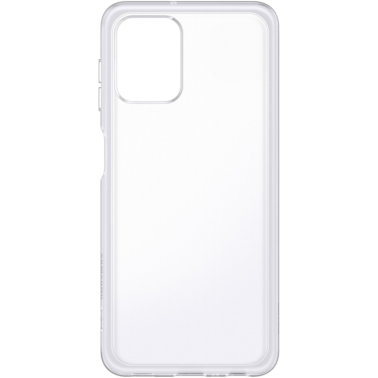 Fotografie Husa de protectie Samsung Soft Clear pentru Galaxy A22 LTE, Transparent