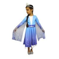Детски карнавален костюм HuxyMascots Елза, размер 140