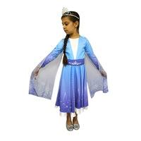 Детски карнавален костюм HuxyMascots Елза, размер 122