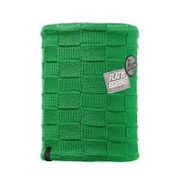 Детски плетен шал Buff 000058017-AZES3374f, Топла вътрешна подплата, Зелен