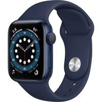 Apple Watch Series 6 GPS 40mm kék alumínium, Deep Navy sport szíj EU MG143