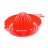 Storcator pentru citrice, din plastic cu maner, Rosu