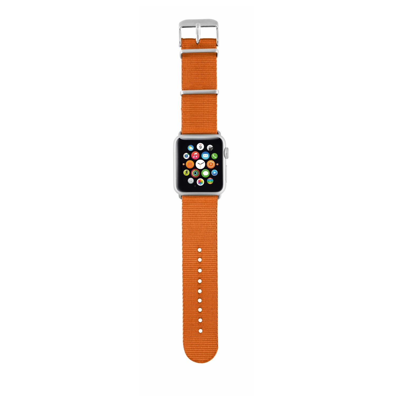 Fotografie Curea Trust Urban pentru Apple Watch 38mm, Nylon, Orange