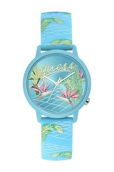 Guess Originals, Trópusi mintás kvarc karóra, türkiz/zöld