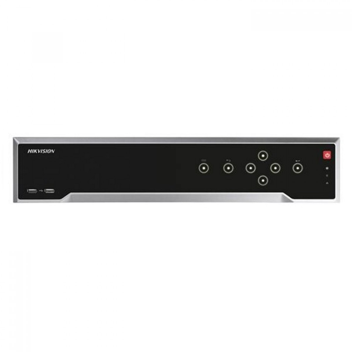 Fotografie NVR HIKVISION DS-7716NI-I4/16P, 256Mbps 32-ch IP video, 4 SATA interfaces, VCA detection/search, 1.5U case, 19""