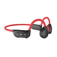 PowerLocus Bone Conduction, In-Ear Sport Fülhallgató Vezeték nélküli, Open Ear, Piros