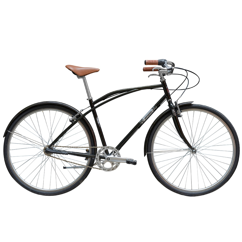 Fotografie Bicicleta Pegas Magistral, cadru 22'', 3 viteze, Negru Stelar