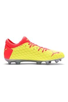 Puma, Футболни обувки Future 5.4, Яркорозов / Жълт, 32