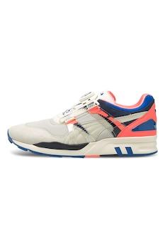 Puma, XS 7000 Disc Story sneaker, Homokbarna/Kék/Barackszín
