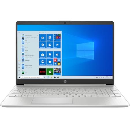 "Laptop HP 15s-eq1053nq cu procesor Ryzen 3 3250U, 15.6"", HD, 8GB, 256GB SSD, AMD Radeon Graphics, Windows 10 Home, Natural Silver"