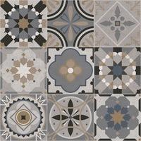 Öntapadós csempe matrica Marokkó szürke, 2 x 30 x 30 cm